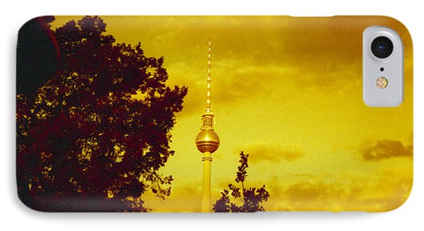 Alexander Tower IPhone Case by Juan  Bosco