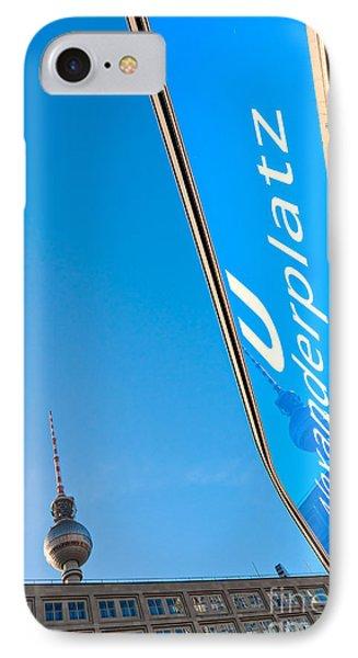 Alexanderplatz - Berlin IPhone Case by Luciano Mortula