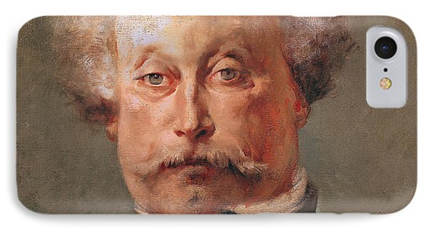 Alexandre Dumas IPhone Case by Georges Clairin