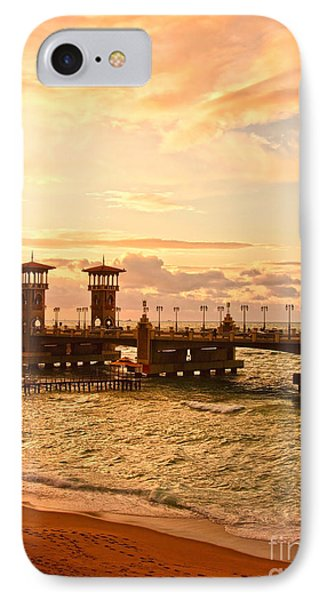 Alexandria Stanley Bridge IPhone Case by Mohamed Elkhamisy