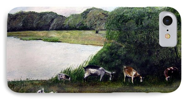Alex's Goats IPhone Case by Stan Tenney