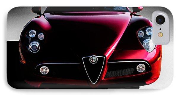 Alfa Romeo 8c IPhone Case by Douglas Pittman