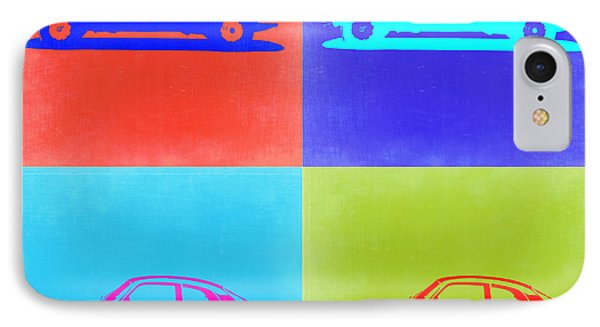 Alfa Romeo Gtv Pop Art 2 IPhone Case by Naxart Studio