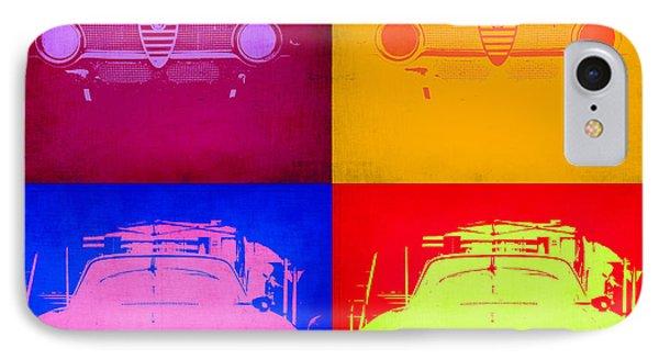 Alfa Romeo  Pop Art 2 IPhone Case by Naxart Studio