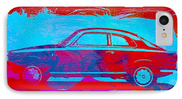 Alfa Romeo  Watercolor 1 Phone Case by Naxart Studio