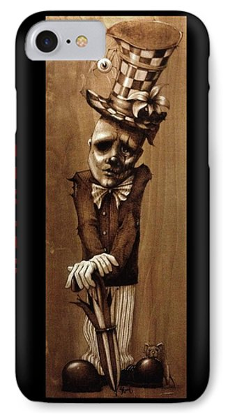 Alfred Cobwebs IPhone Case by Suzanne Roach