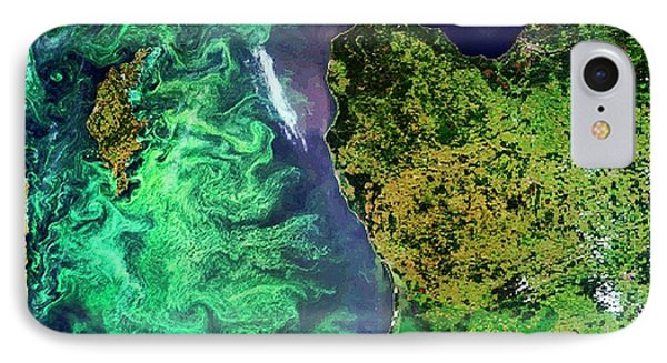 Algal Blooms IPhone Case by European Space Agency