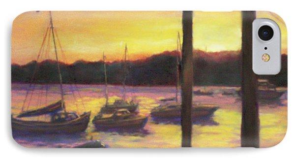 Algarve Sunset IPhone Case by Harriett Masterson