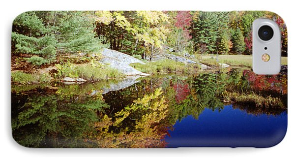 IPhone Case featuring the photograph Algonquin Reflection by David Porteus