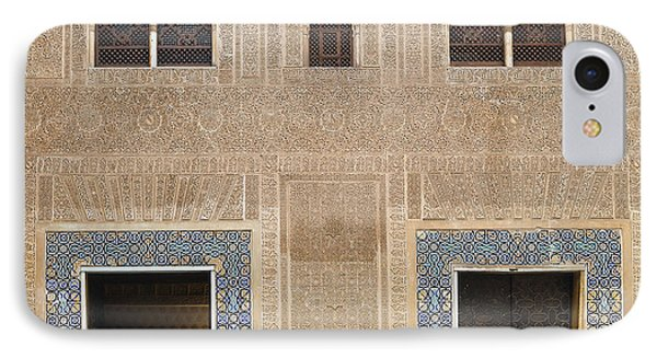 IPhone Case featuring the photograph Alhambra Court Granada by Rudi Prott