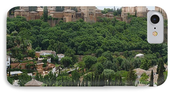 Alhambra - Granada - Spain IPhone Case by Phil Banks