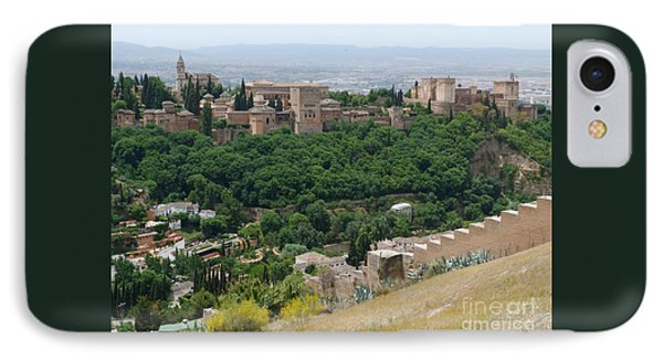Alhambra Palace - Granada IPhone Case by Phil Banks