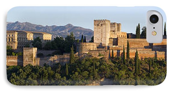 IPhone Case featuring the photograph Alhambra Palace - Panorama by Nathan Rupert