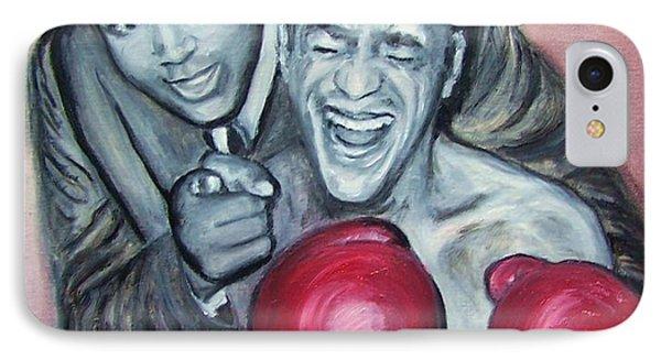Ali And Sammy IPhone Case by Martha Suhocke
