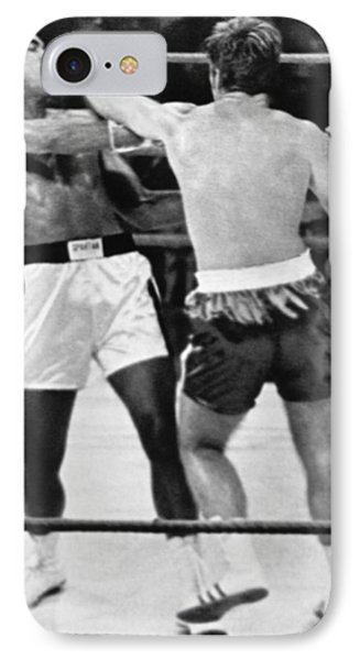 Ali-quarry Fight IPhone Case by Underwood Archives