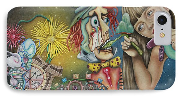 Alice IPhone Case by Desiree Aponte