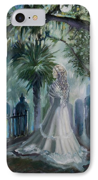 Alice Flagg - The Ghost Of Murrells Inlet Phone Case by Jane Woodward