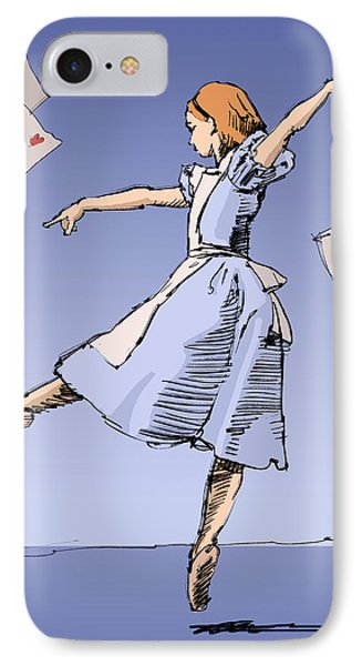 Alice IPhone Case by H James Hoff
