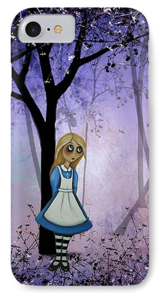 Alice In An Enchanted Forest IPhone Case by Charlene Murray Zatloukal