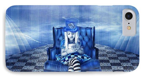 Alice In Wonderland IPhone Case by Amanda Ryan