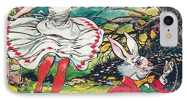 Alice In Wonderland IPhone Case by Jesus Blasco