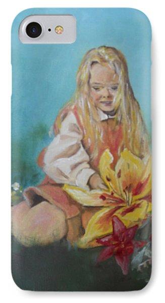 Alice In Wonderland Phone Case by Joyce Reid