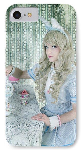 Alice Lolita Phone Case by Christine Holding