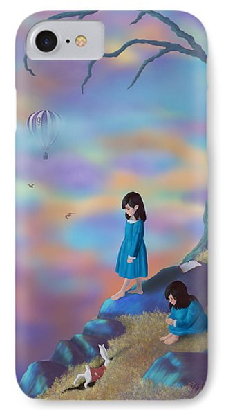 Alice's Ambivalence IPhone Case by Audra D Lemke
