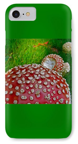 Alice's Shrooms IPhone Case