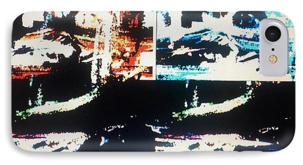 Alien Abduction IPhone Case by Judith Desrosiers
