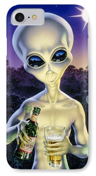 Alien Brew IPhone 7 Case by Steve Read