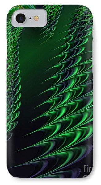 Alien Encounter IPhone Case by John Edwards