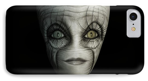 Alien Face IPhone Case