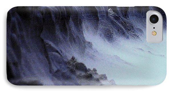 Alien Landscape The Aftermath Part 2 IPhone Case by Blair Stuart