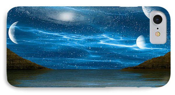 Alien Waterscape Phone Case by Brian Wallace