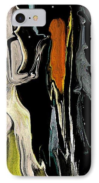 IPhone Case featuring the digital art Alien Women In The Sky by Sherri  Of Palm Springs