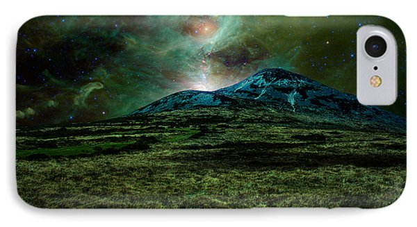 Alien World Phone Case by Semmick Photo
