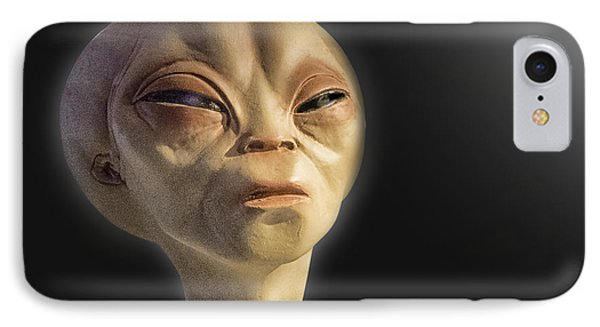 Alien Yearbook Photo IPhone Case