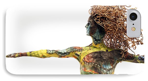 Alight A Sculpture By Adam Long Phone Case by Adam Long