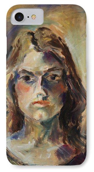 Aline Phone Case by Barbara Pommerenke
