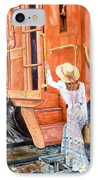 All Aboard  IPhone Case by Susan Duda