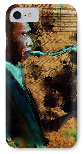 All Aboard The Coltrane IPhone Case by Howard Barry