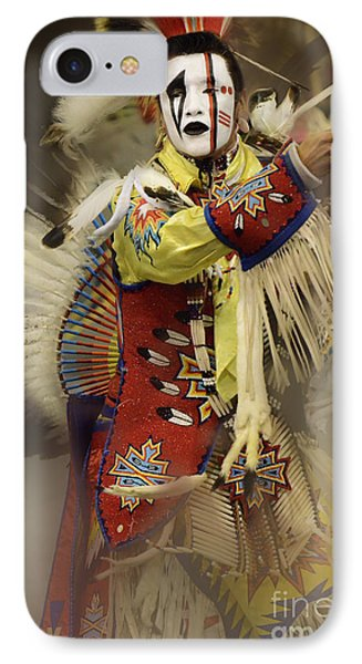Pow Wow All About Time IPhone Case by Bob Christopher