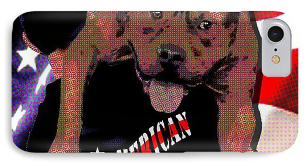 IPhone Case featuring the digital art All American Fred by Jann Paxton