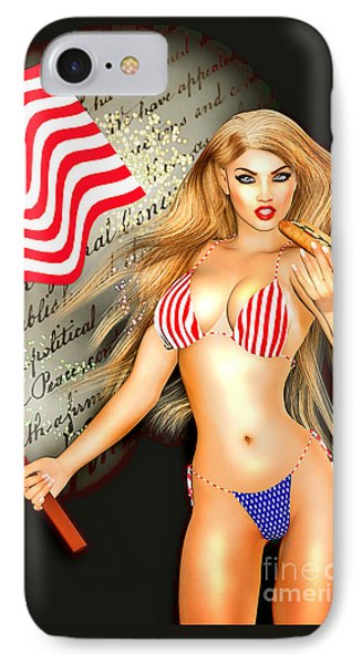 All American Girl - Independence Day IPhone Case