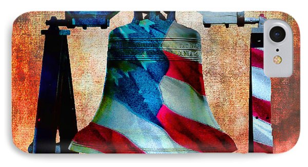 Liberty Bell Art Smooth All American Series IPhone Case by Lesa Fine