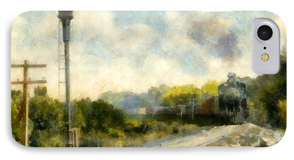 All Clear On The Pere Marquette Railway  Phone Case by Michelle Calkins