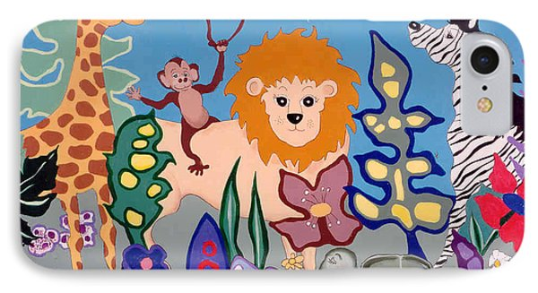 All Creatures Great And Small Phone Case by Joyce Gebauer
