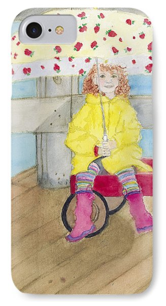 All Dressed Up And Ready For Rain IPhone Case by Ann Michelle Swadener