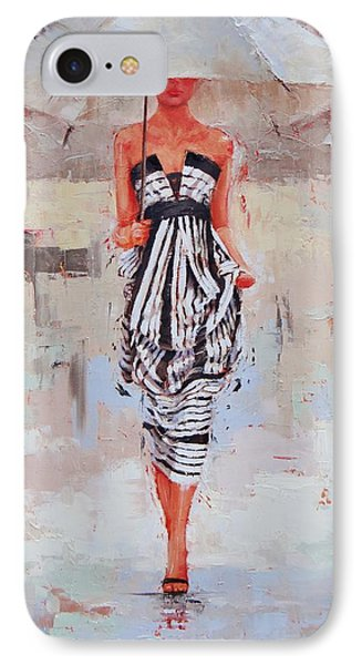All Dressed Up IPhone Case by Laura Lee Zanghetti